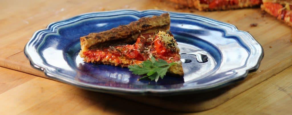 tomato mustard tarte